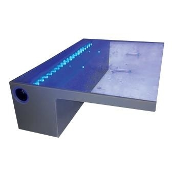 Lighted LED Spillway - 12 Inch   Waterfalls