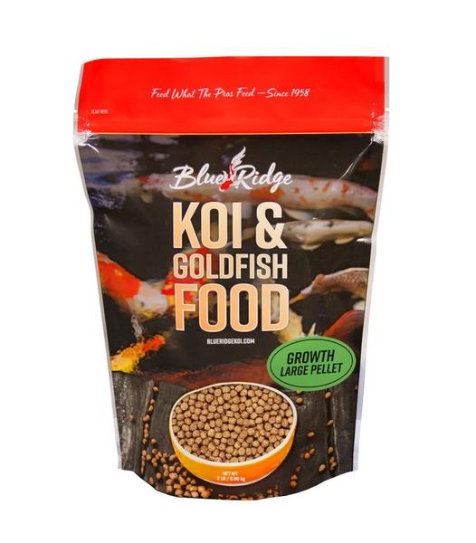 Blue Ridge Large Pellet Growth Food | Blue Ridge Fish Hatchery