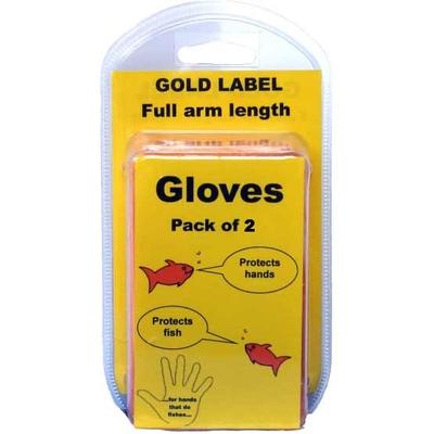 United Aquatics Full Arm Length Pond Gloves Pack of 2 | United Aquatics