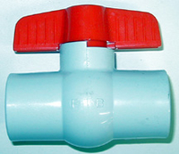 Image Ball Valve, PVC Threaded
