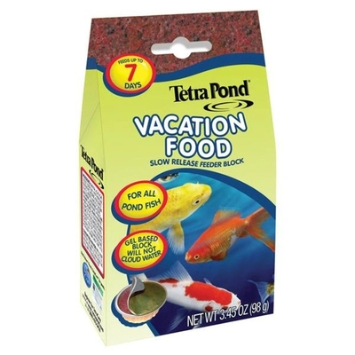 Image TetraPond Pond Vacation Food