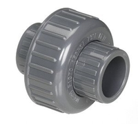 Image PVC Union Couplings SLIP X SLIP