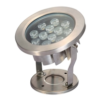 Image LED12WW 12 Watt Stainless Steel Underwater LED Light