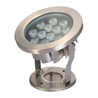 Image LED12WW 12 Watt Stainless Steel Underwater LED Light