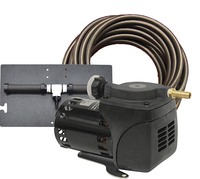 Image PA10Wk Pond Aeration System 1/20 HP Kit with tubing & cabinet
